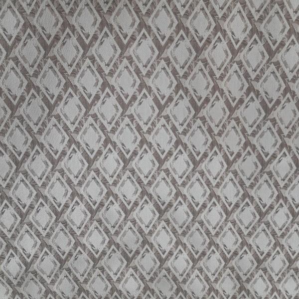Ткань портьерная Жаккард 19, коричневый