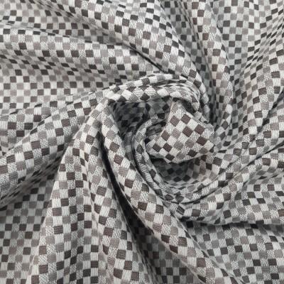 Ткань портьерная Жаккард 23, серый